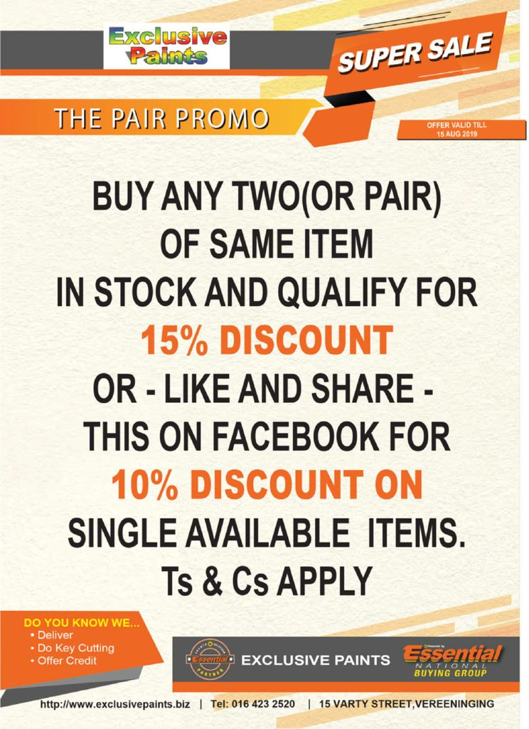 Exclusive Paints Essential Hardware Store And Paint Supplies